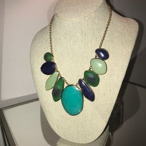 Stella & Dot Serenity Stone Statement Necklace